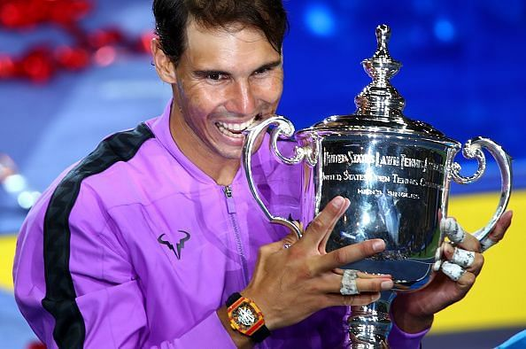 Nadal beat Medvedev to win his fourth US Open title in 2019