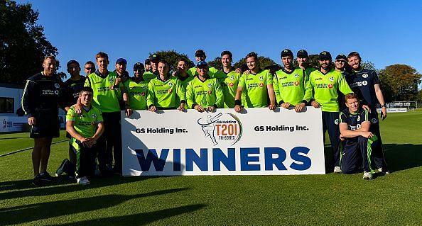 विजेता आयरलैंड टीम