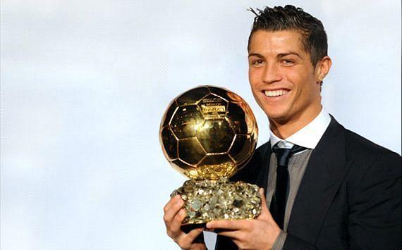 Ronaldo won his first of five Ballon d