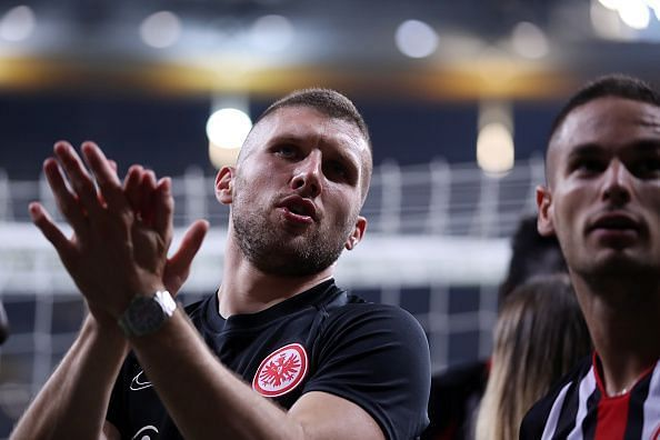 Ante Rebic has completed his move to AC Milan