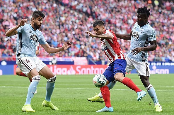 Correa provided a different dynamic in attack for Atletico