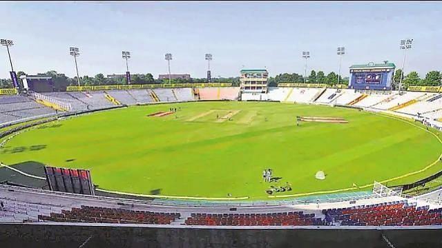 मोहाली क्रिकेट ग्राउंड