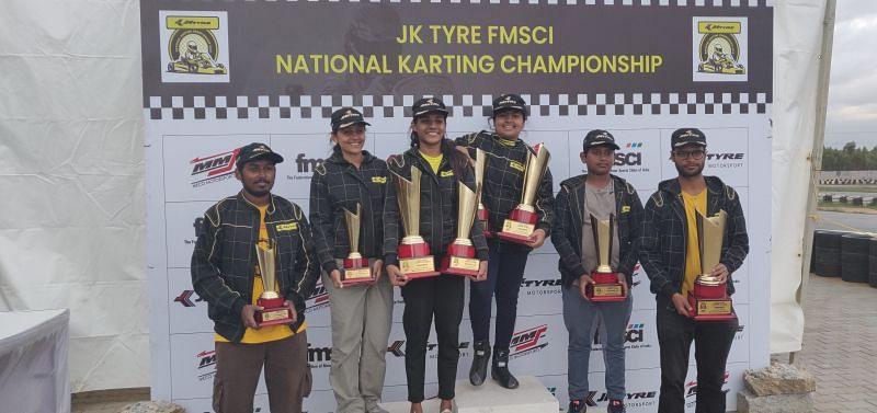 Winners of the FMSCI NRC - Sodi Class (Four Stroke)