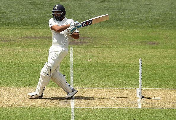 Rohit Sharma during Australia v India - 1st Test: Day 1, 2018