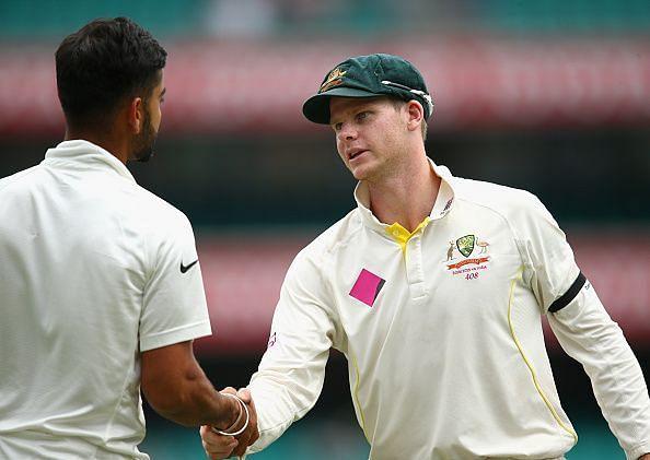 File Pic: India vs Australia Test