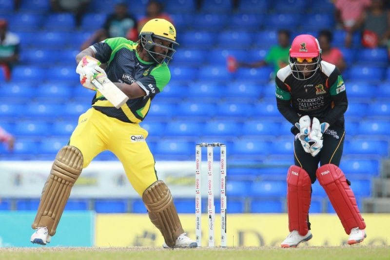 Chris Gayle has 172 CPL fours to his name.