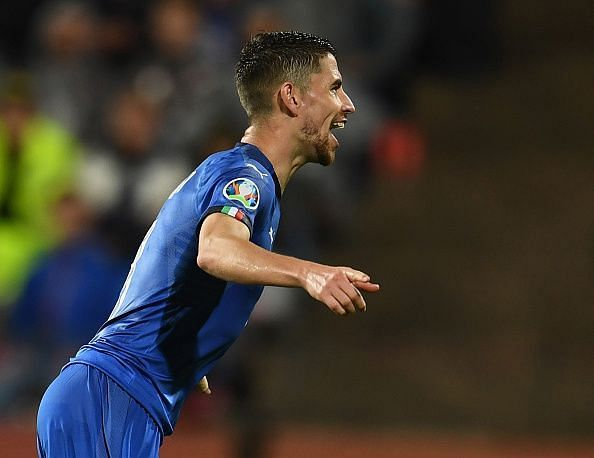 Jorginho scored a winning penalty for his national side.