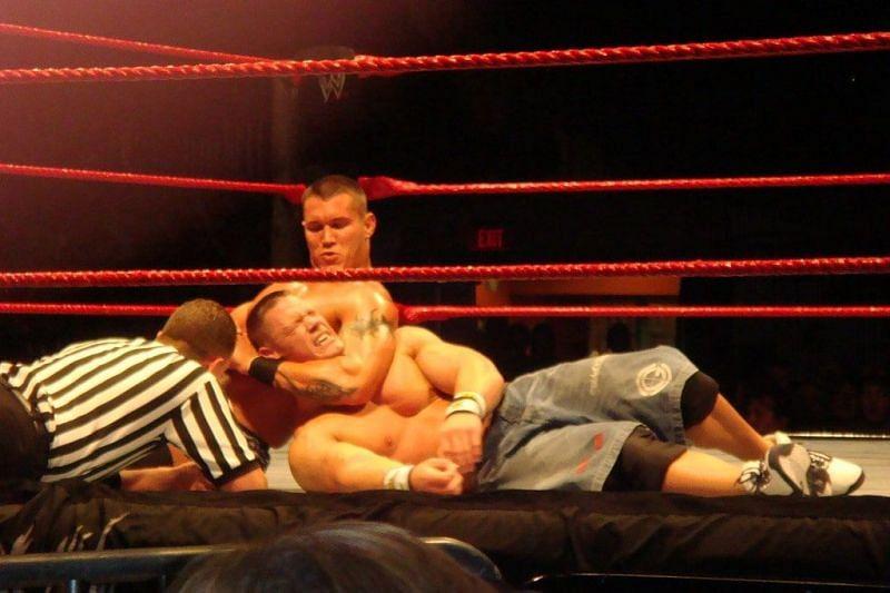 WWE John Cena vs Randy Orton