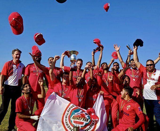 विजेता ऑस्ट्रिया टीम