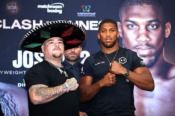 Andy Ruiz Jr. v Anthony Joshua 2 (Clash on the Dunes) - Press Conference