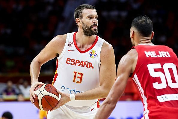 Marc Gasol performed well during Spain