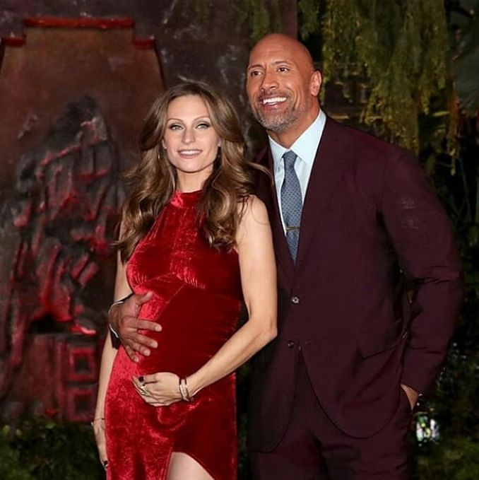Dwayne Johnson wife