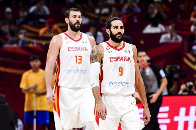 Two of the most reliable and experienced NBA veterans, Ricky Rubio and Marc Gasol.