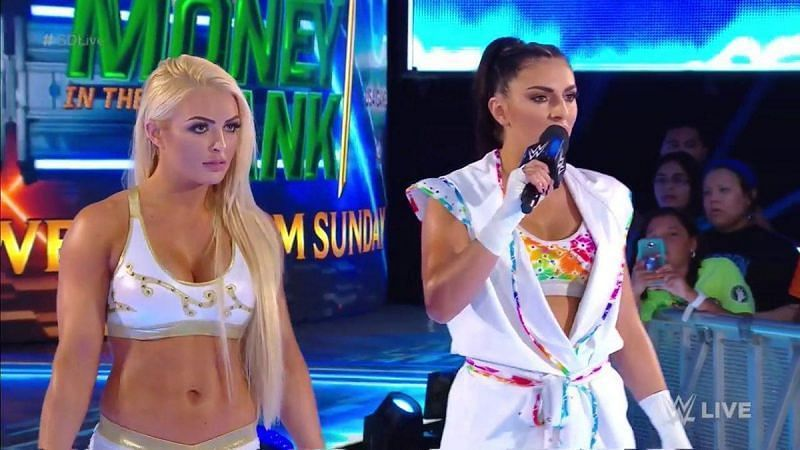 Mandy Rose vs Sonya Deville will surely entice the WWE Universe