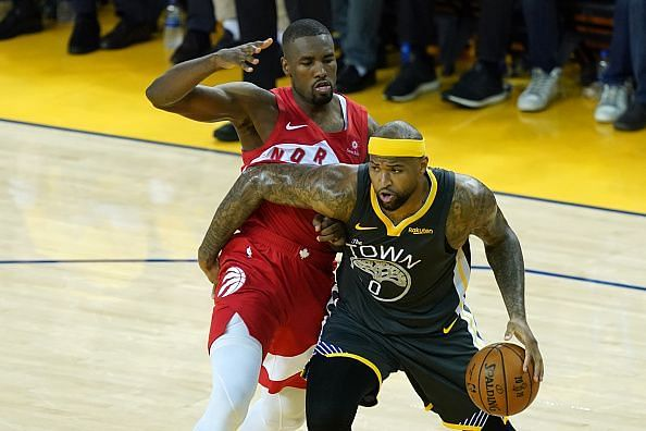 DeMarcus Cousins spent last season with the Golden State Warriors