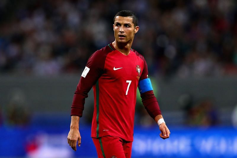 Cristiano Ronaldo will look to lead his side from the front when they take on Lithuania