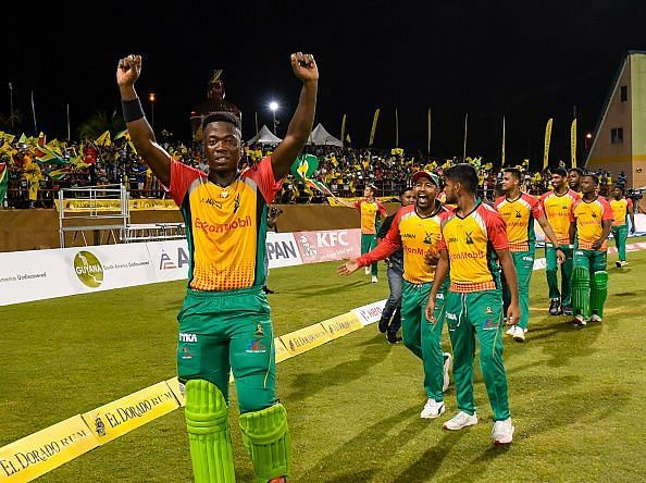Guyana Amazon Warriors would hope to go one better this season