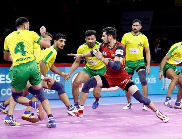 Bengaluru Bulls demolished Tamil Thalaivas with an immaculate game