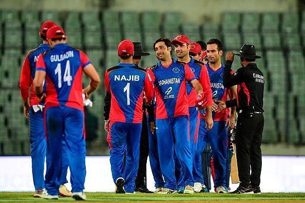 अफगानिस्तान की जीत के साथ शुरुआत