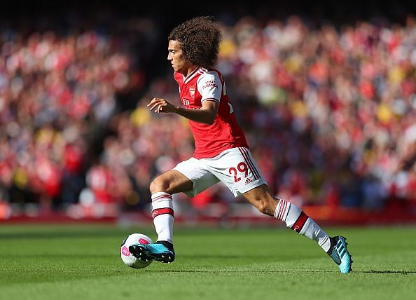 Matteo Guendouzi has made rapid strides since his move to Arsenal last year.