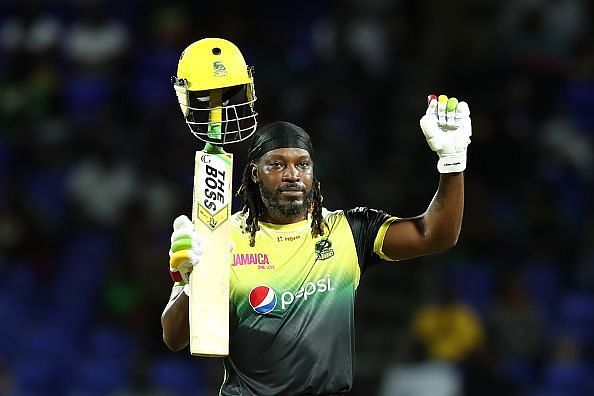 Gayle smashed a hundred in his last match