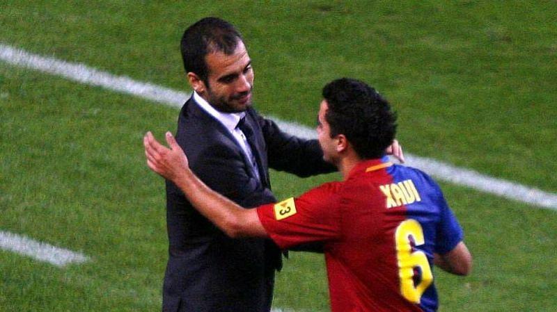 Xavi was the on-field representation of Guardiola