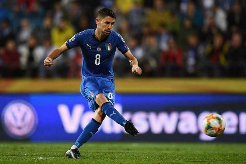 Jorginho scored the winner for Italy away in Finland