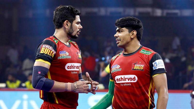 Pawan Sehrawat scored 17 raid points against Tamil Thalaivas