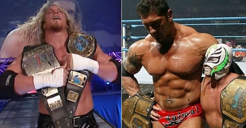 Did you remember that Test aka Andrew Martin was once a double champion in WWE?