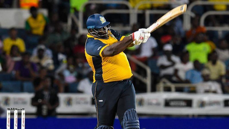Rahkeem Cornwall smashed a 30-ball 75 against Jamaica Tallawahs