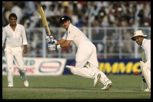 Peter Kirsten of South Africa batting
