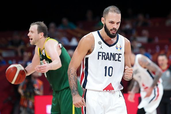 Evan Fournier was among the top scorers in China