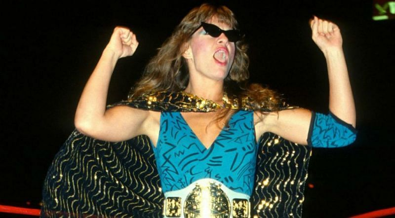 Wendi Richter, who famously defeated Fabulous Moolah in 1984.