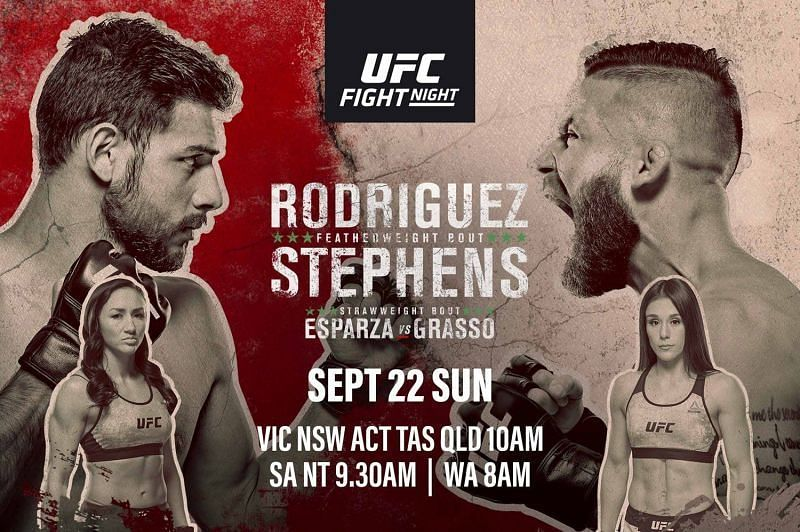 UFC Fight Night 159: Rodriguez vs Stephens