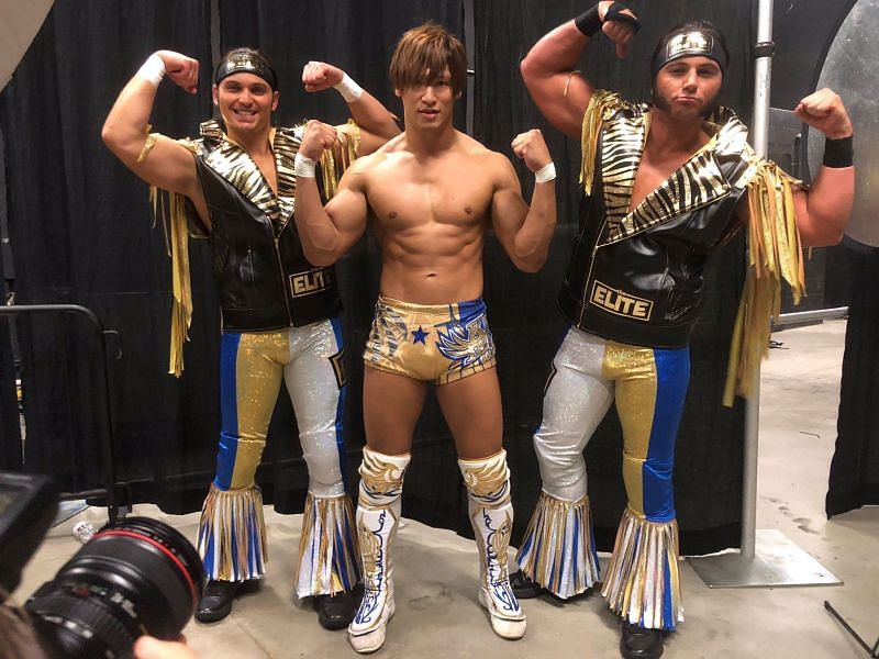 The Golden Lover stayed behind in NJPW