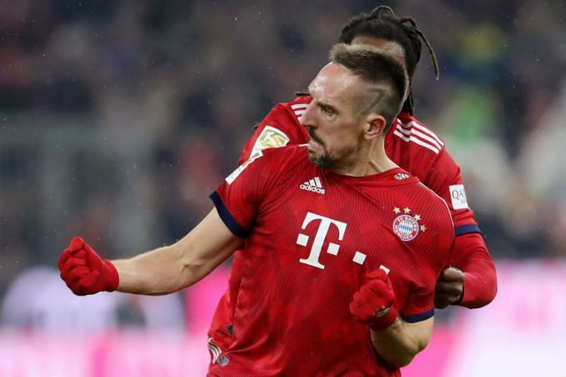 It was Ribery at the rescue when the sides last met at the Allianz Arena