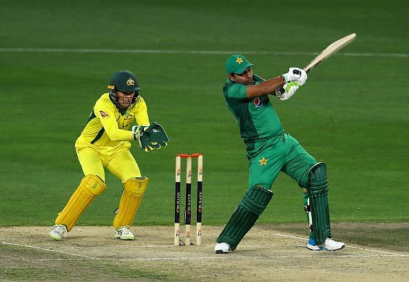 Akmal has a better ODI average against the Aussies than other major teams.