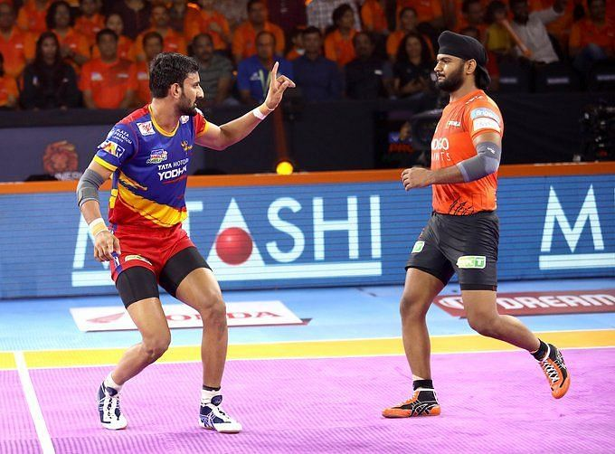 U Mumba clinched the victory in a close-called encounter