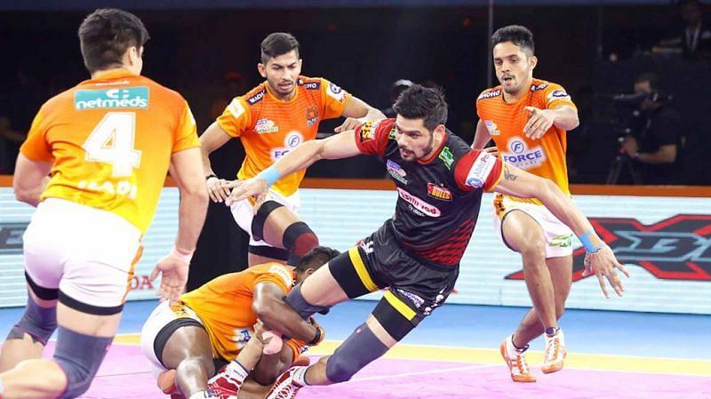 Rohit Kumar has been the captain of the Bengaluru Bulls since season 4