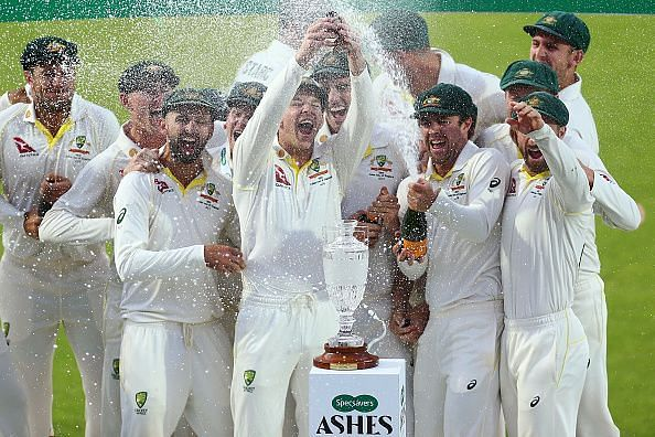 Australia retained the Ashes after the series ended 2-2