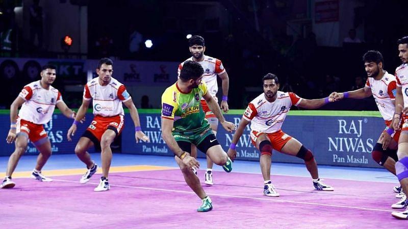 Can Patna maintain their unbeaten run? (Image Courtesy: Pro Kabaddi)