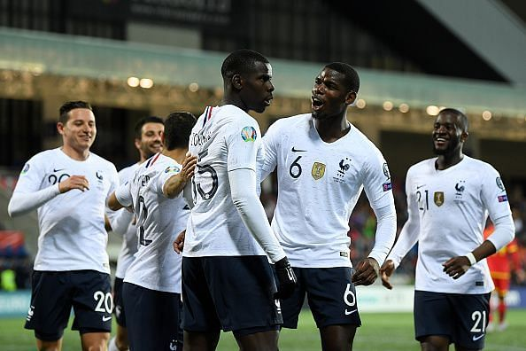 Kurt Zouma was on target against Andorra and could e in the squad once again for France