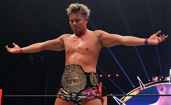 Kazuchika Okada will be defending the IWGP Heavyweight Championship at KOPW