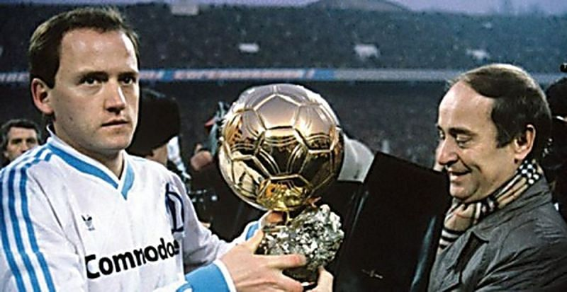 Belanov won the 1986 Ballon d