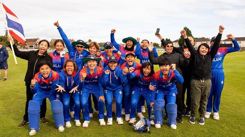 थाईलैंड ने टूर्नामेंट में शानदार प्रदर्शन किया (फोटो: ICC)
