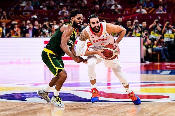 Ricky Rubio endured a poor shooting night but still played a big role in Spain