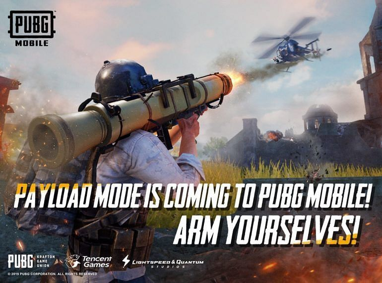 Payload Mode was released for PUBG Mobile yesterday.