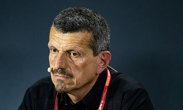 Guenther Steiner in Friday