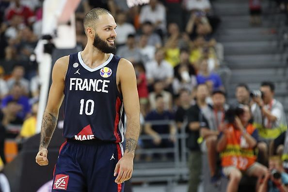 Evan Fournier was among the most impressive performers during the quarter-finals