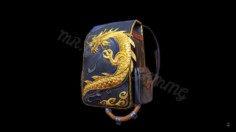 The Samurai Backpack (Image source: Mr.GHOST GAMING, YouTube)